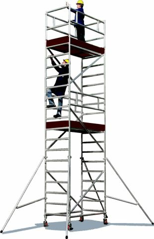 Schele si structuri speciale Jolly schela modulara din aluminiu