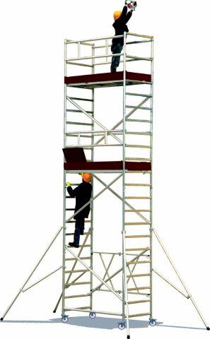 Schele si structuri speciale Roller Plus L Schela modulara din aluminiu