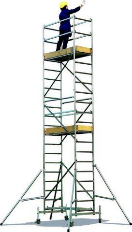 Schele si structuri speciale Millenium S schela modulara din aluminiu