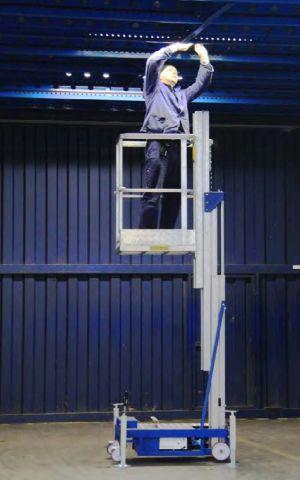 Nacele, platforme aeriene si esafodaje Microlift - platforma aeriana cu nacela